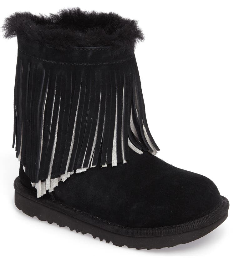 ed391768d9a Classic II Short Fringe Water Resistant Genuine Shearling Boot