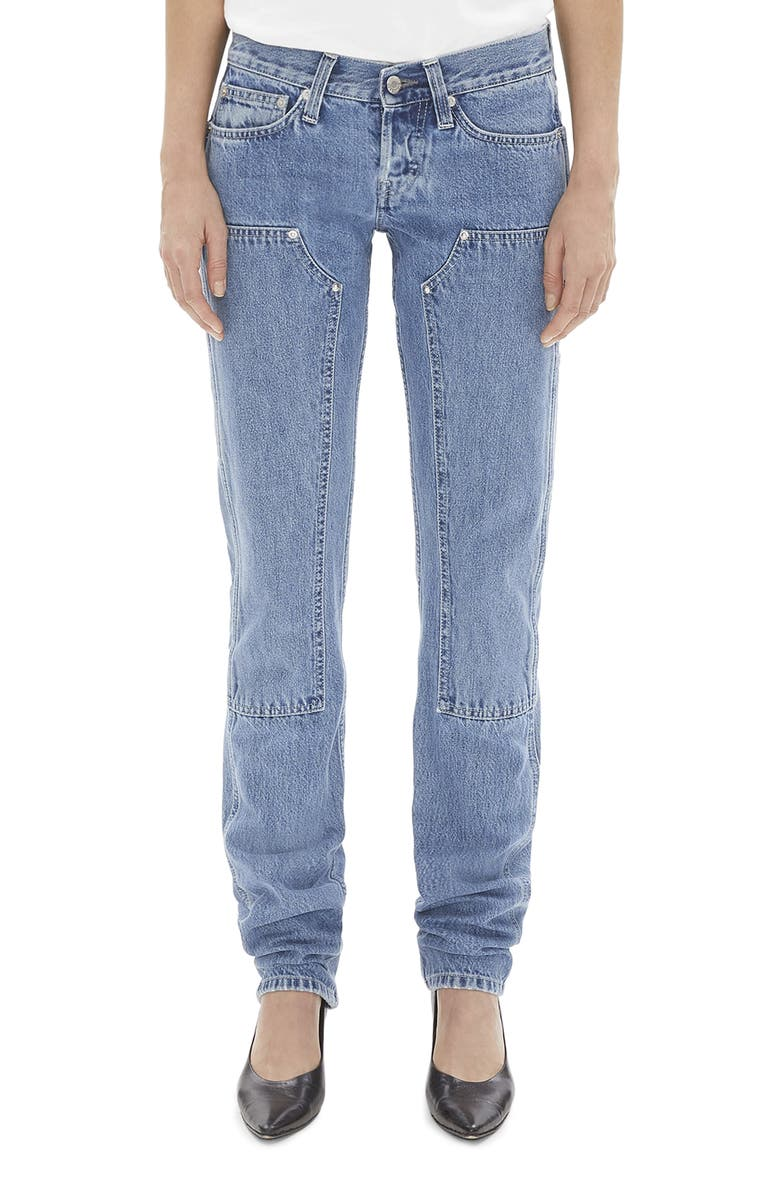 HELMUT LANG Masc Utility Jeans, Main, color, ACC HI CONTRACT INDIGO