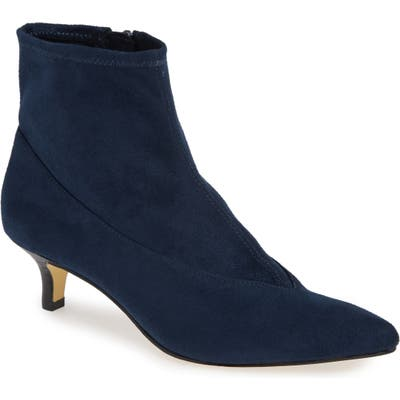Bella Vita Stephanie Ii Stretch Bootie, WW - Blue