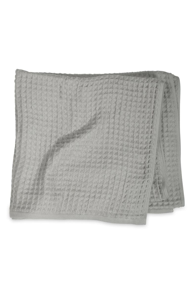 UCHINO Air Waffle Bath Towel, Main, color, GREY