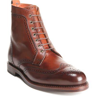 Allen Edmonds Dalton Wingtip Boot, Red (Online Only)