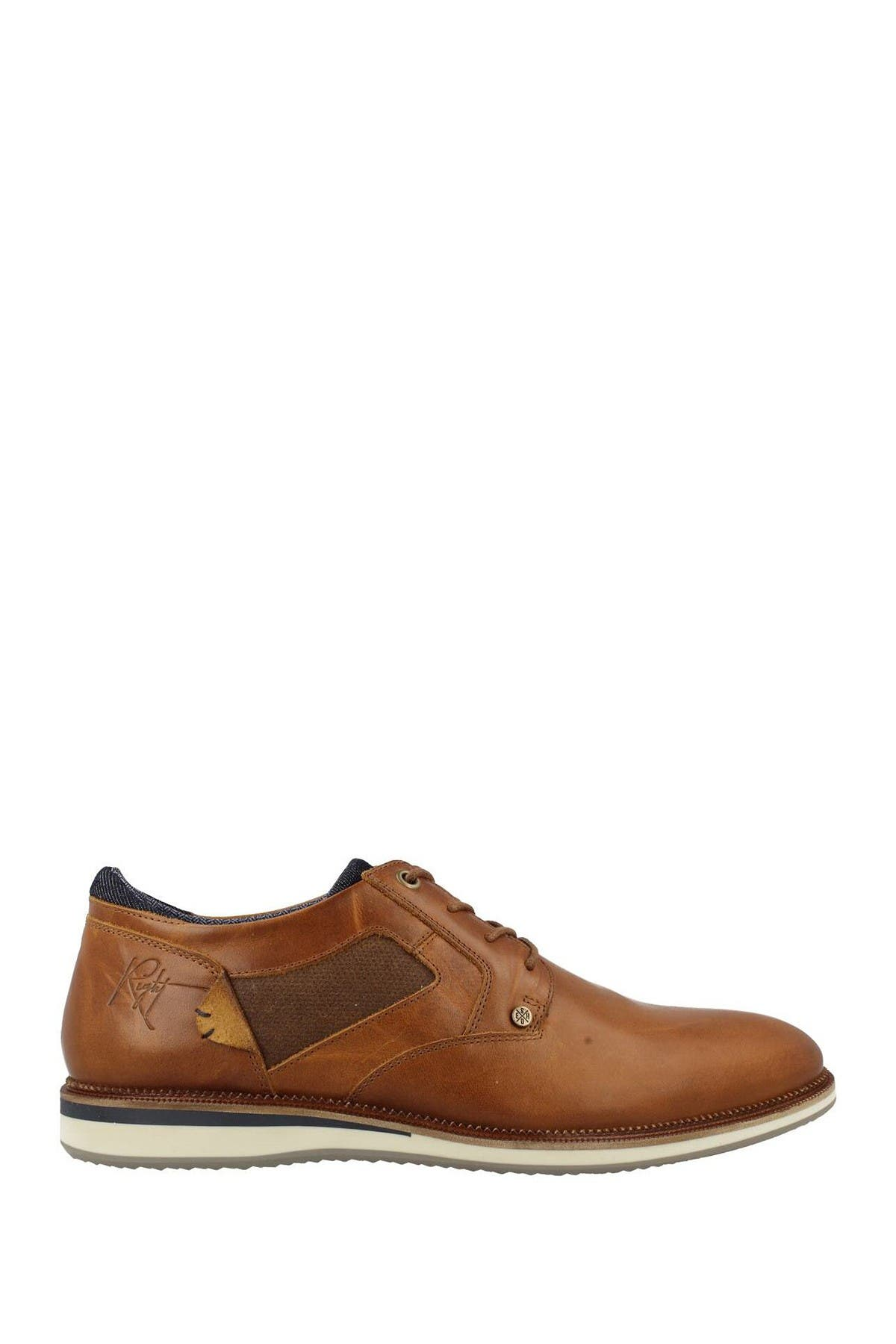 Image of Bullboxer Leather Plain Toe Derby