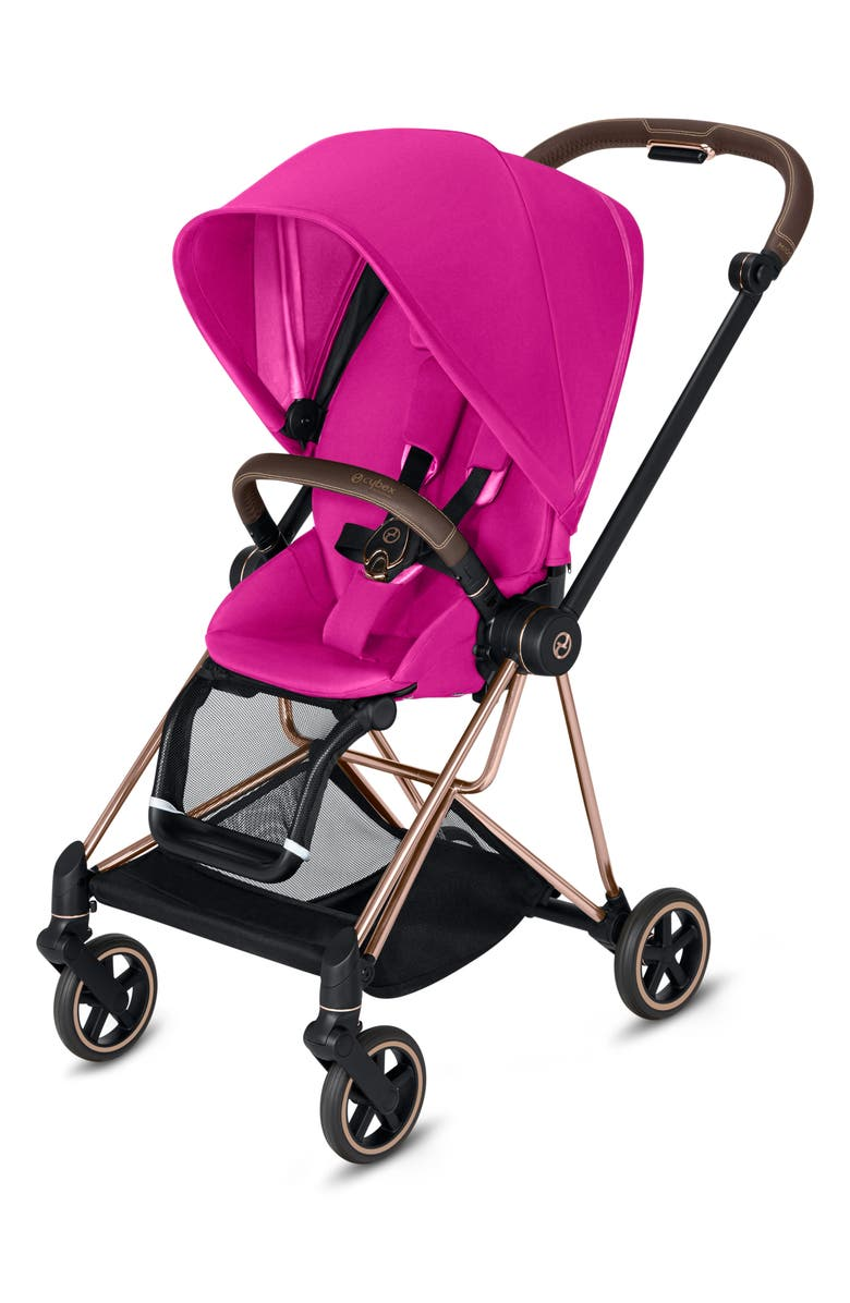 CYBEX Mios Compact Stroller, Main, color, FANCY PINK