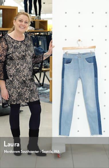 Tess Colorblock Super Skinny Jeans, sales video thumbnail