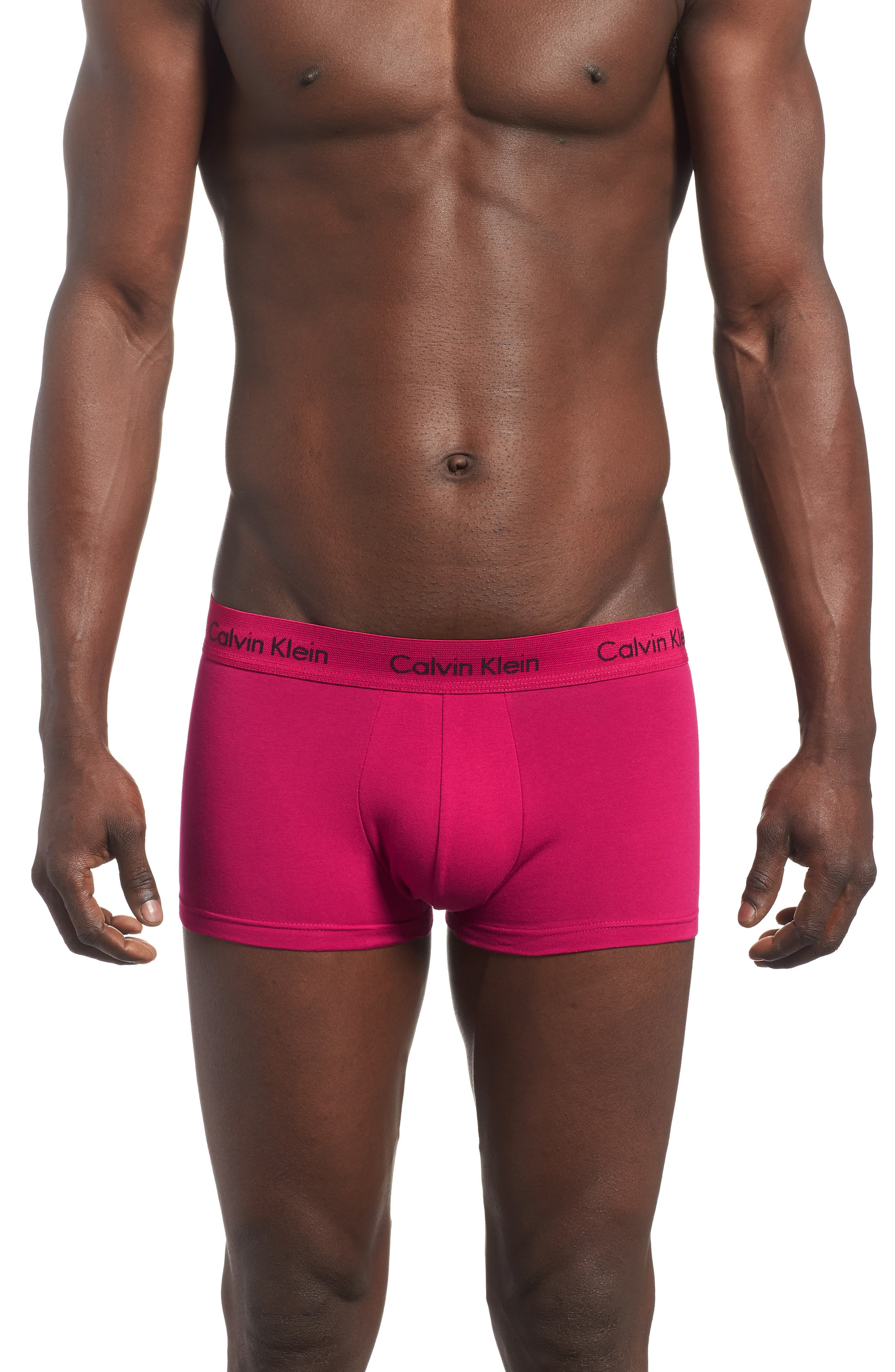 ,                             3-Pack Stretch Cotton Low Rise Trunks,                             Alternate thumbnail 117, color,                             458