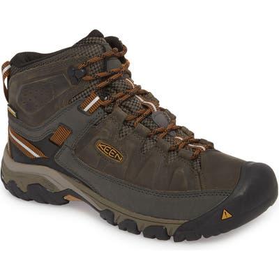 Keen Targhee Iii Mid Waterproof Hiking Boot W - Black