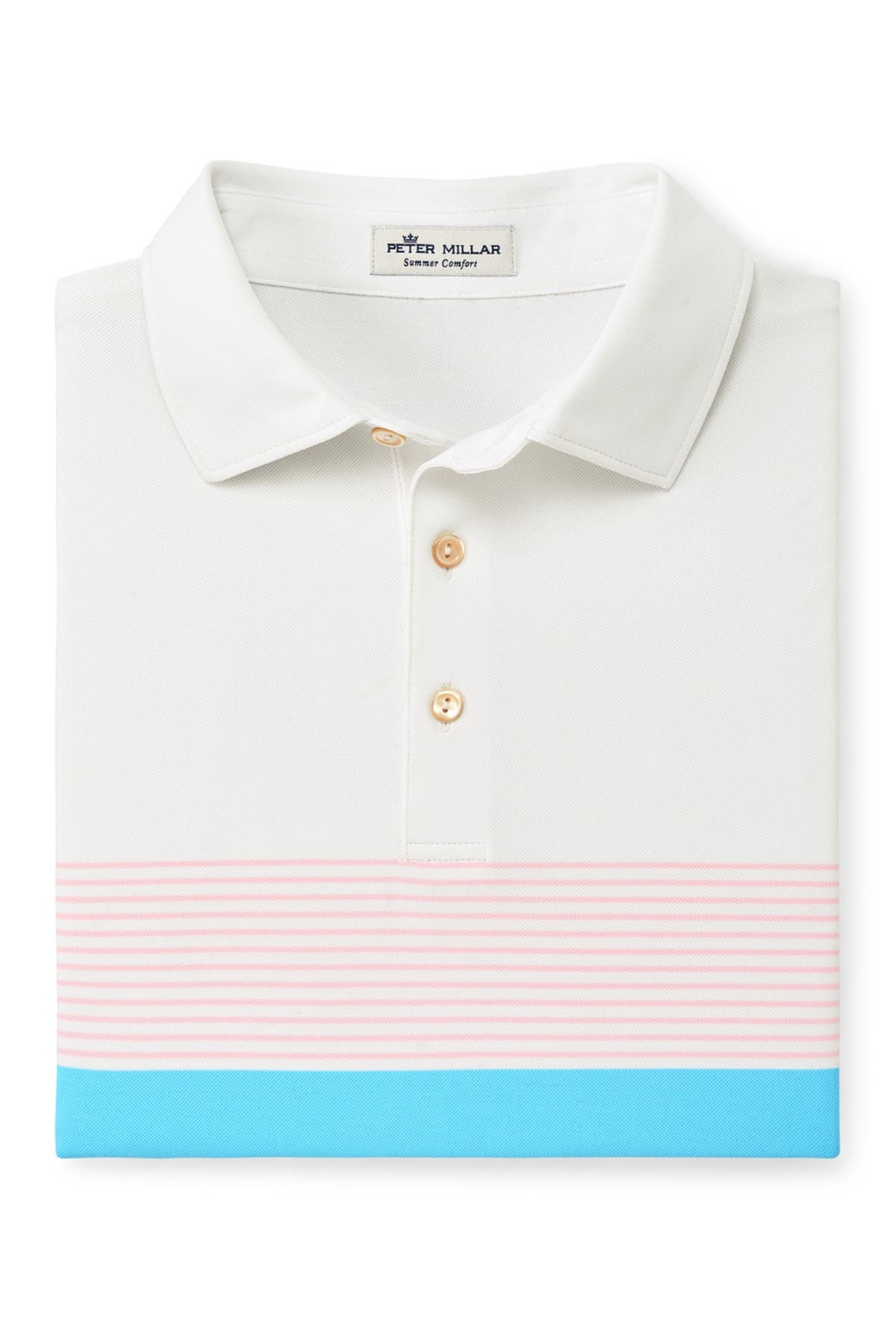 Image of Peter Millar Stripe Knit Polo