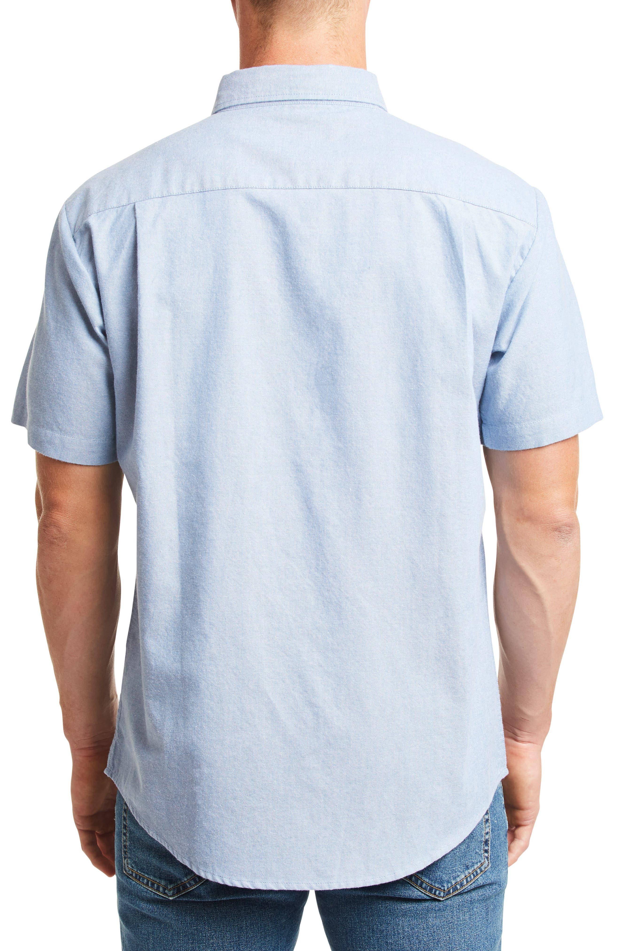 ,                             Charter Oxford Woven Shirt,                             Alternate thumbnail 4, color,                             400