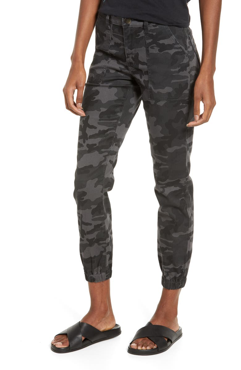 PROSPERITY DENIM Camo Print Jogger Jeans, Main, color, 300