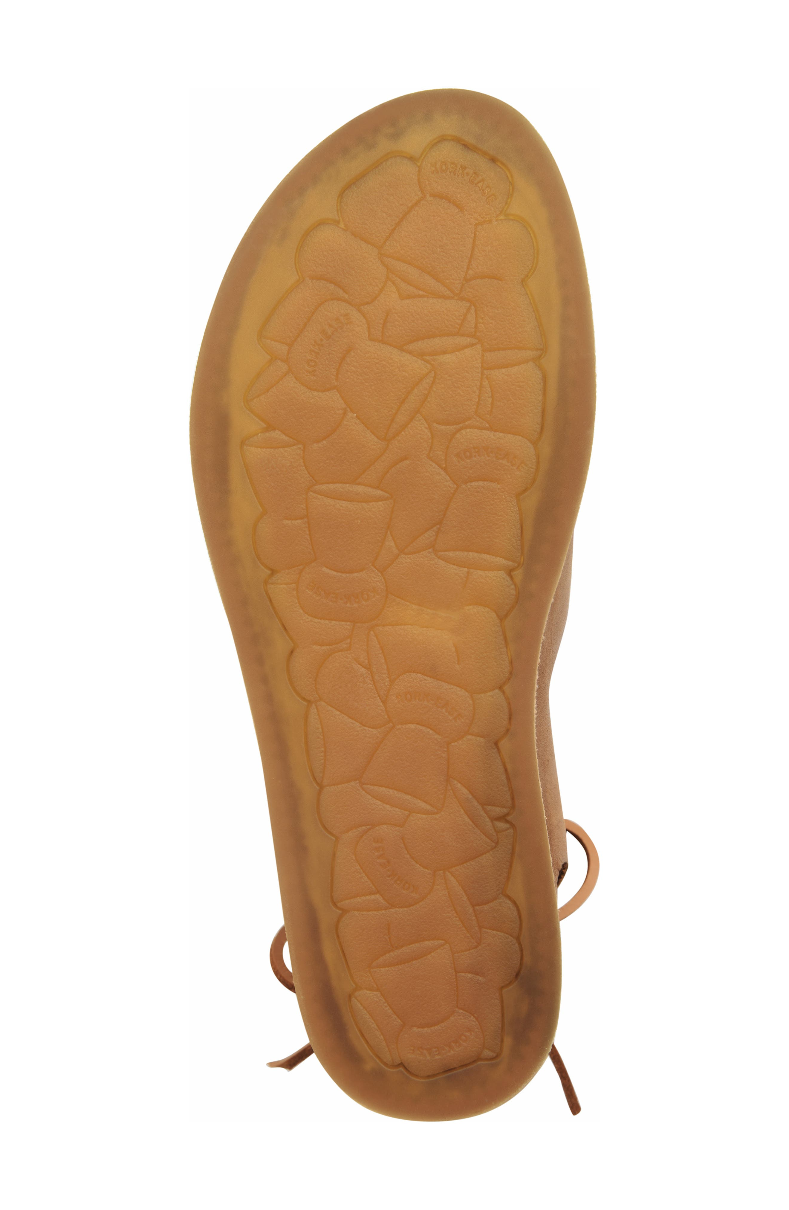 ,                             Aaron Sandal,                             Alternate thumbnail 6, color,                             BROWN LEATHER