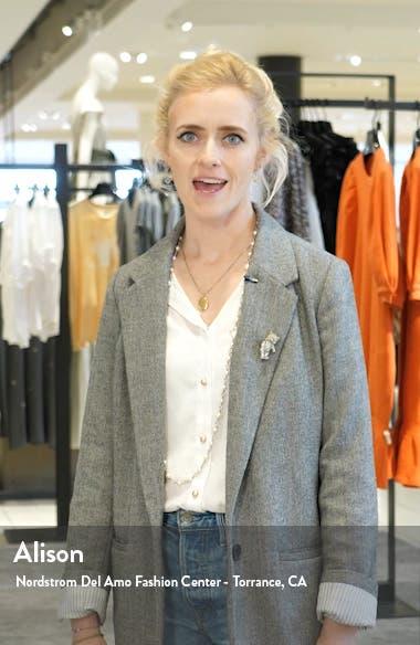 Hydrangea Fit & Flare Dress, sales video thumbnail