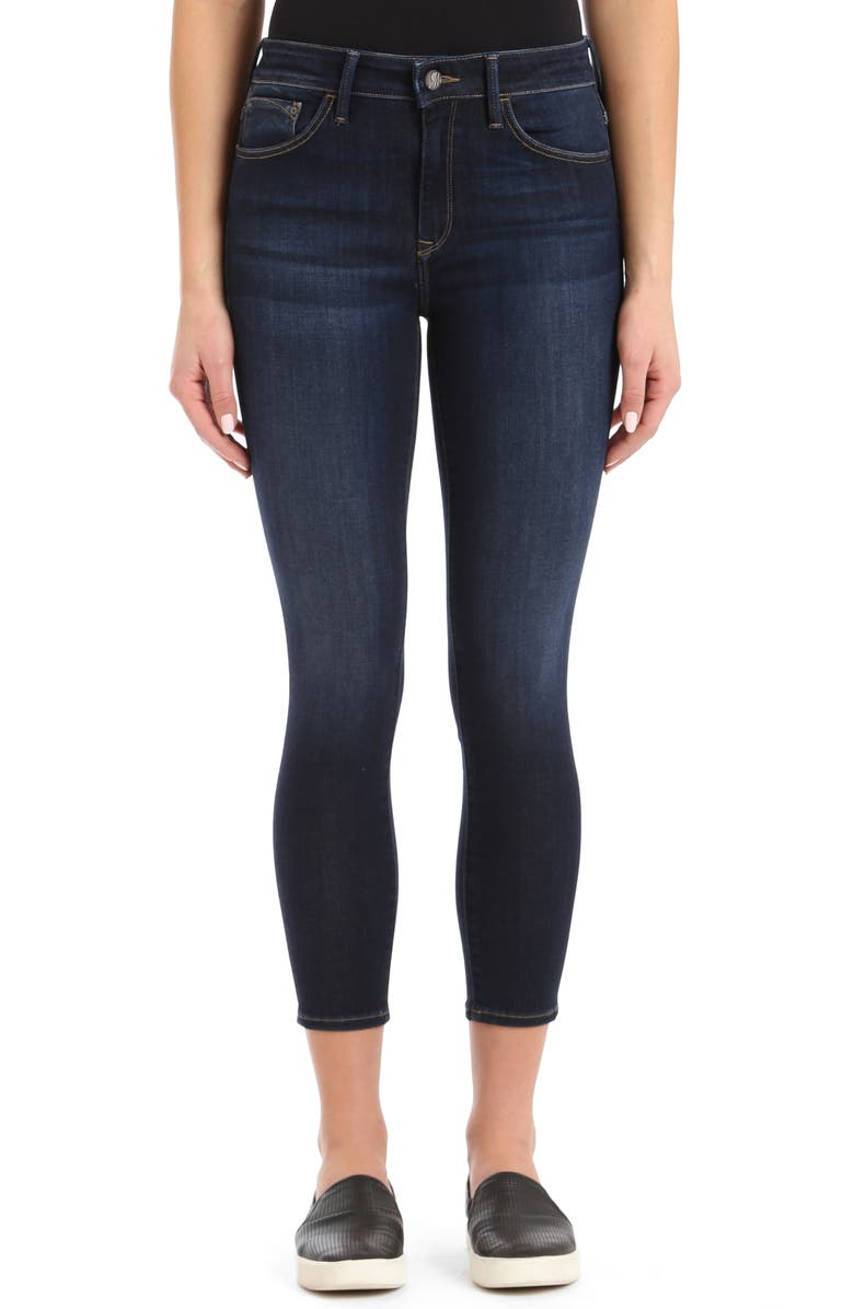 MAVI JEANS Tess Crop Skinny Jeans, Main, color, DEEP SUPERSOFT