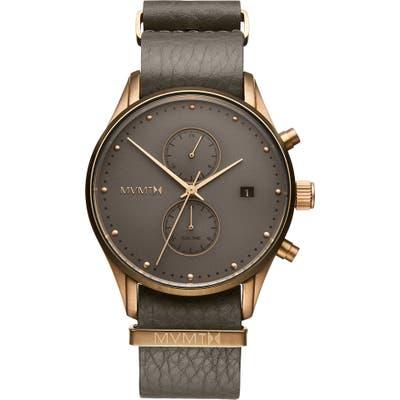 Mvmt Voyager Mesh Strap Watch, 42Mm