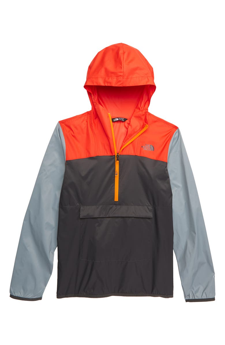 THE NORTH FACE Fanorak Water Repellent Hooded Windbreaker, Main, color, 021
