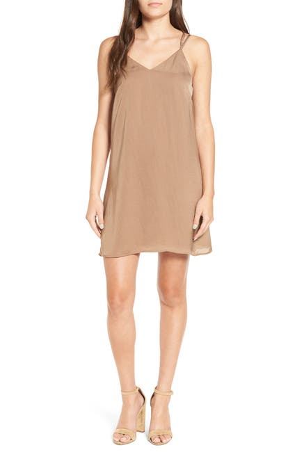 Image of Love, Fire Strappy Shift Dress