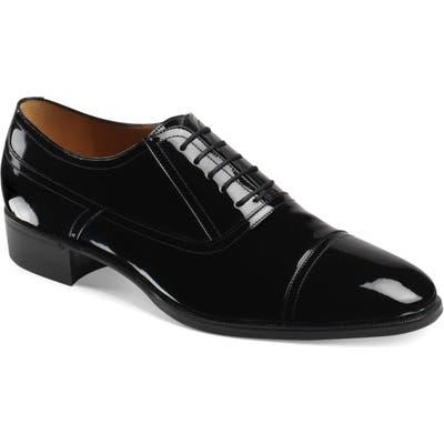 Gucci Plata Cap Toe OxfordUS / 9.5UK - Black