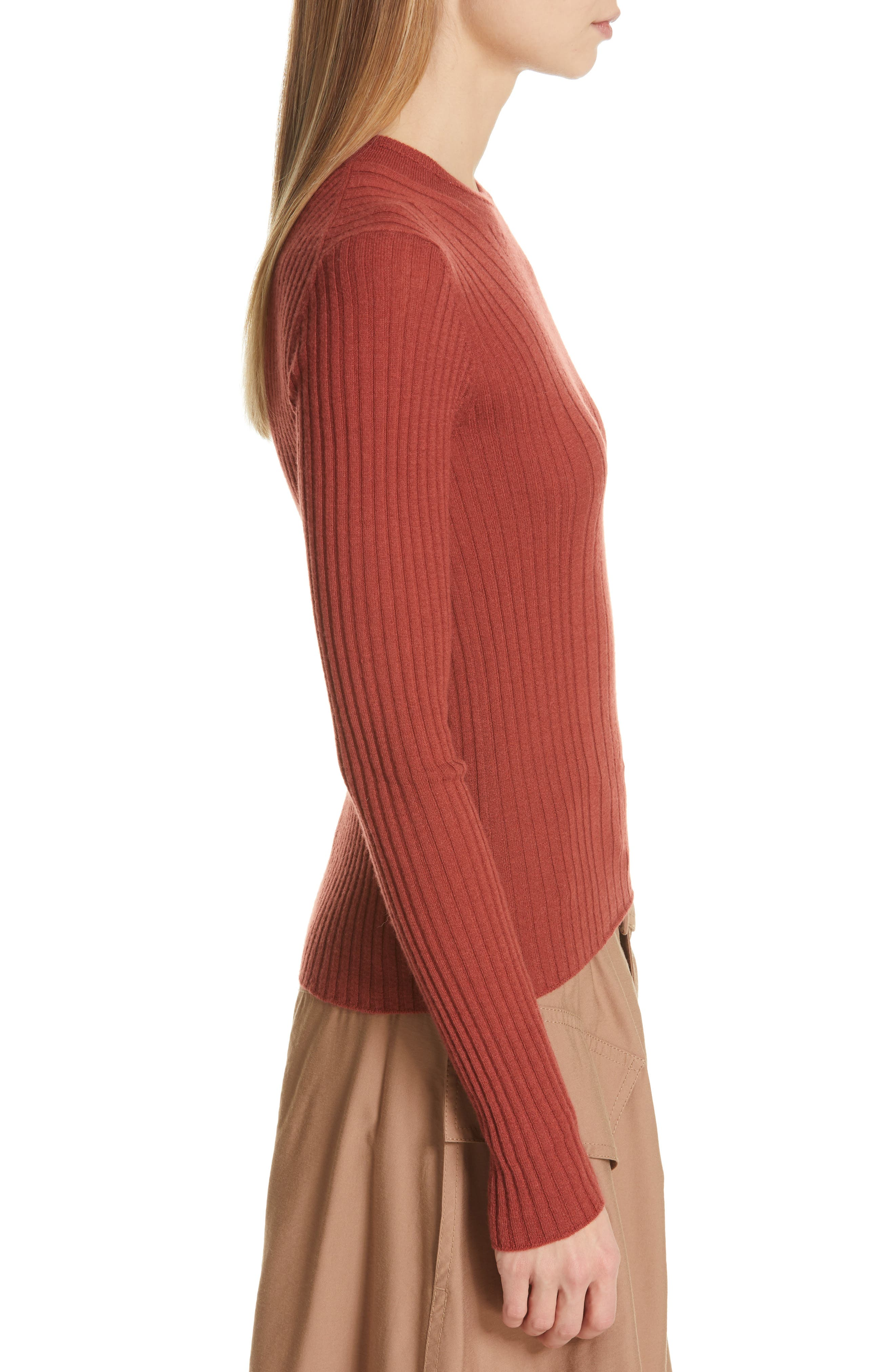 ,                             Mixed Rib Stitch Sweater,                             Alternate thumbnail 16, color,                             636