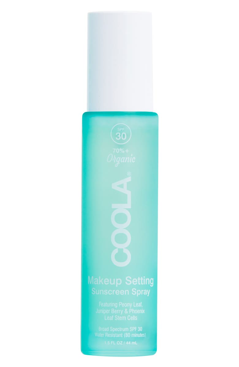 COOLA<SUP>®</SUP> Suncare Classic Face Makeup Setting Spray SPF30, Main, color, 000