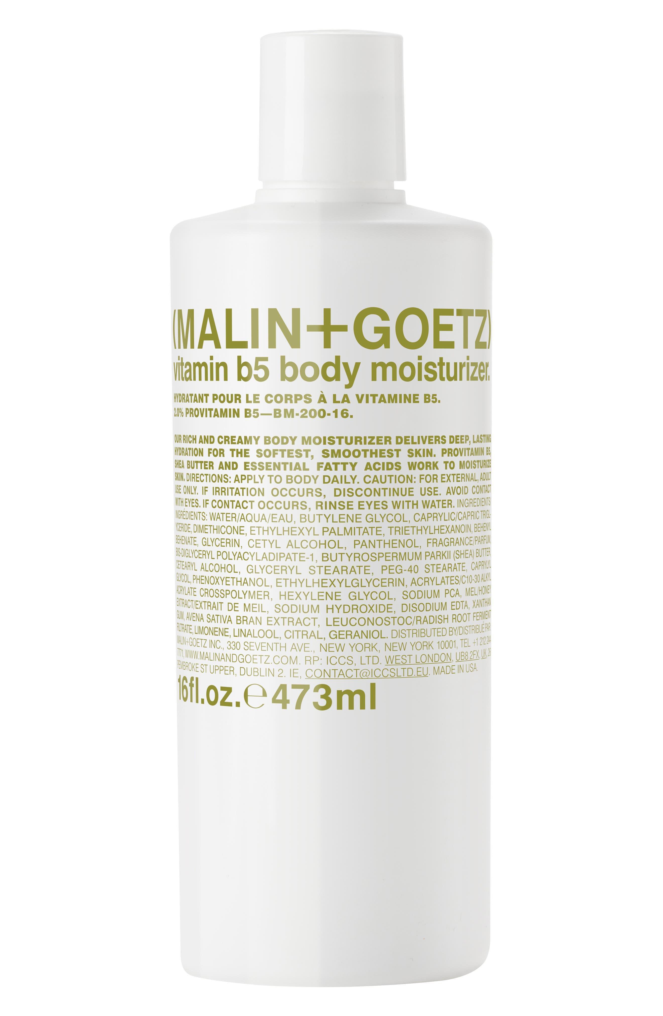 Malin+Goetz Vitamin B5 Body Moisturizer