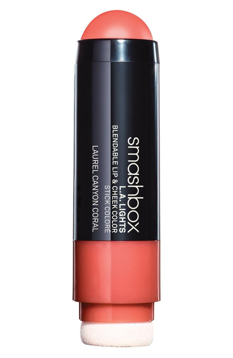 SMASHBOX L.A. Lights Blendable Lip & Cheek Color, Main, color, 950