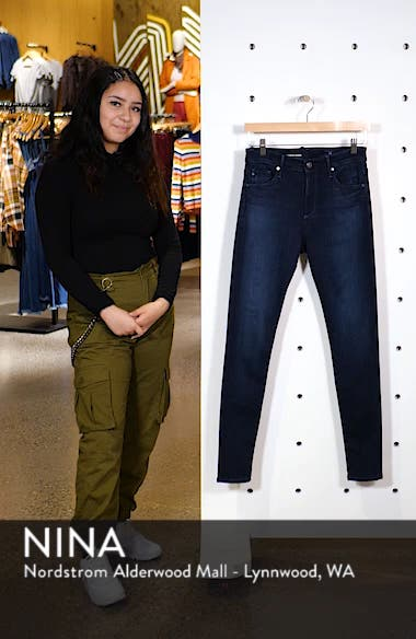 Farrah High Waist Skinny Jeans, sales video thumbnail