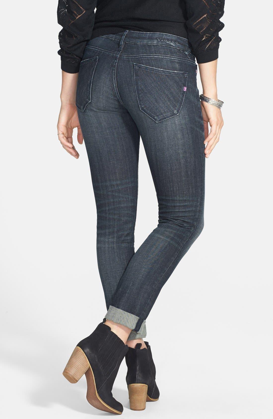 ,                             'Thompson Tomboy' Crop Jeans,                             Alternate thumbnail 2, color,                             403