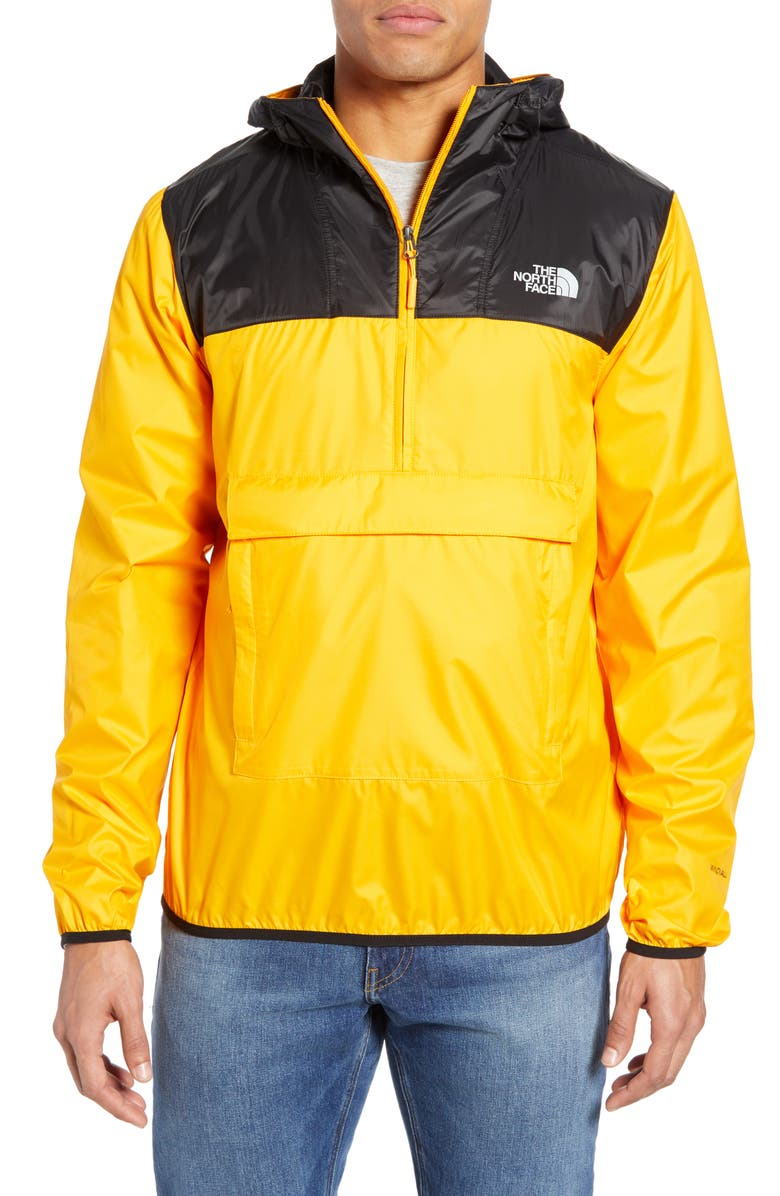 THE NORTH FACE Fanorak Pullover, Main, color, ZINNIA ORANGE/ TNF BLACK