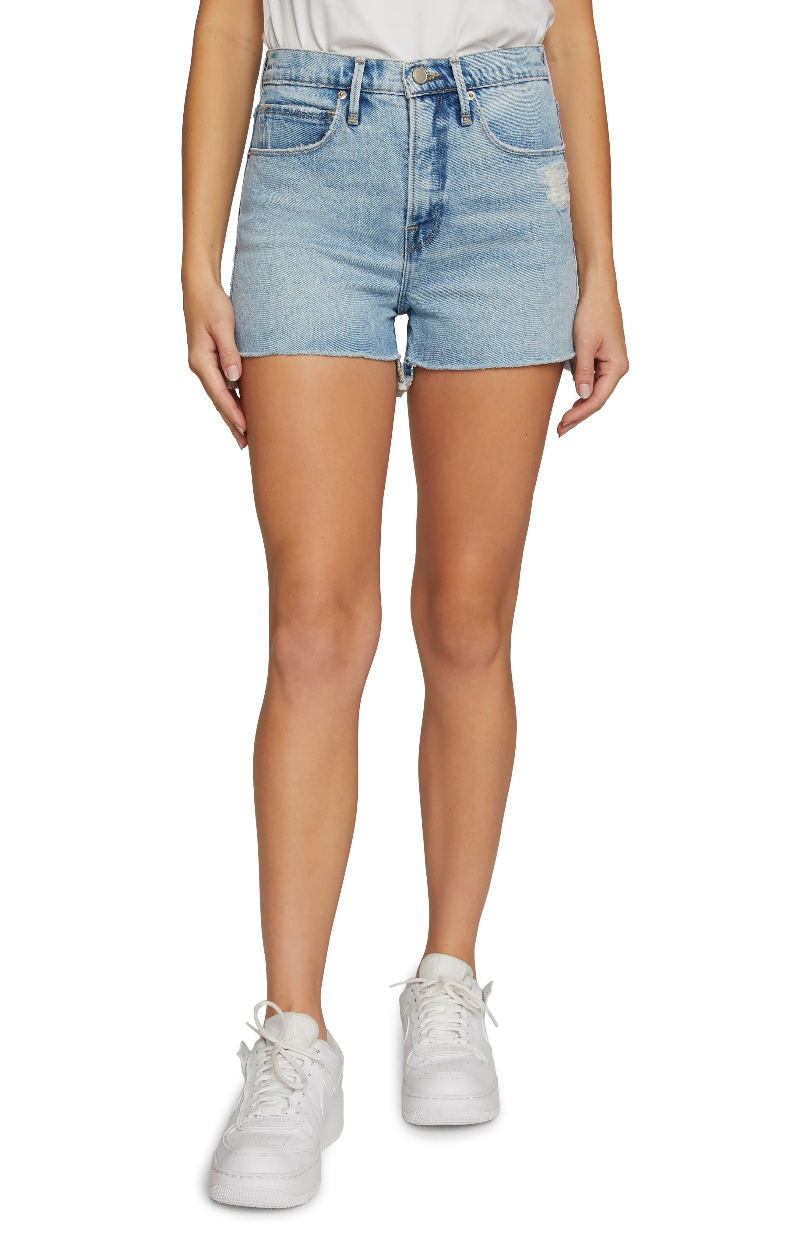 Good '90S Cutoff Denim Shorts
