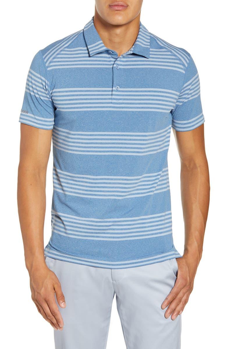 BONOBOS M-Flex Stripe Jersey Golf Polo, Main, color, 400