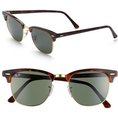 Ray-Ban Classic Clubmaster 51Mm Sunglasses -