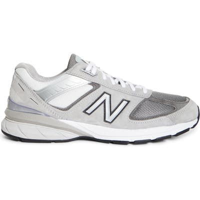 Beams X New Balance 990V5 Made In Us Running Shoe - Grey