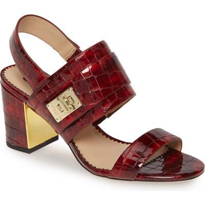 Karl Lagerfeld Paris Jaylynn Sandal- Red