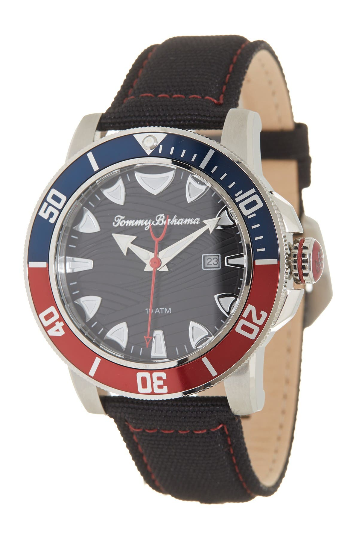 Image of Tommy Bahama Men's Shark Bay Diver Watch, 45mm