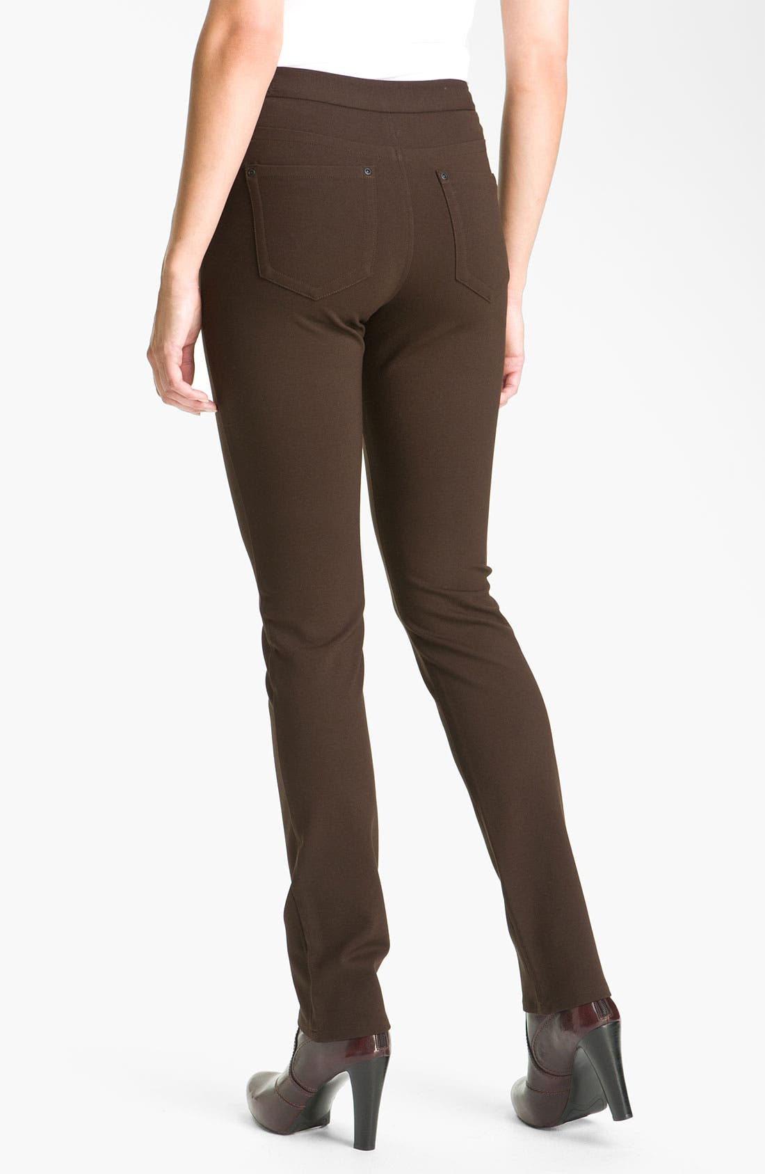 ,                             'Samantha' Stretch Ponte Knit Pants,                             Alternate thumbnail 9, color,                             202