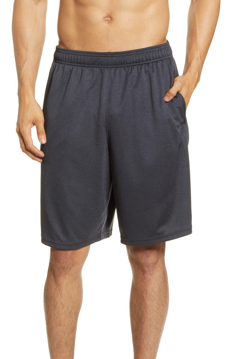 NEW BALANCE Sport Knit Performance Shorts, Main, color, BLACK