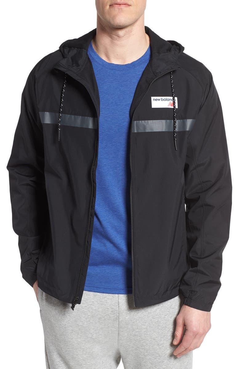NEW BALANCE Athletics 78 Jacket, Main, color, BLACK