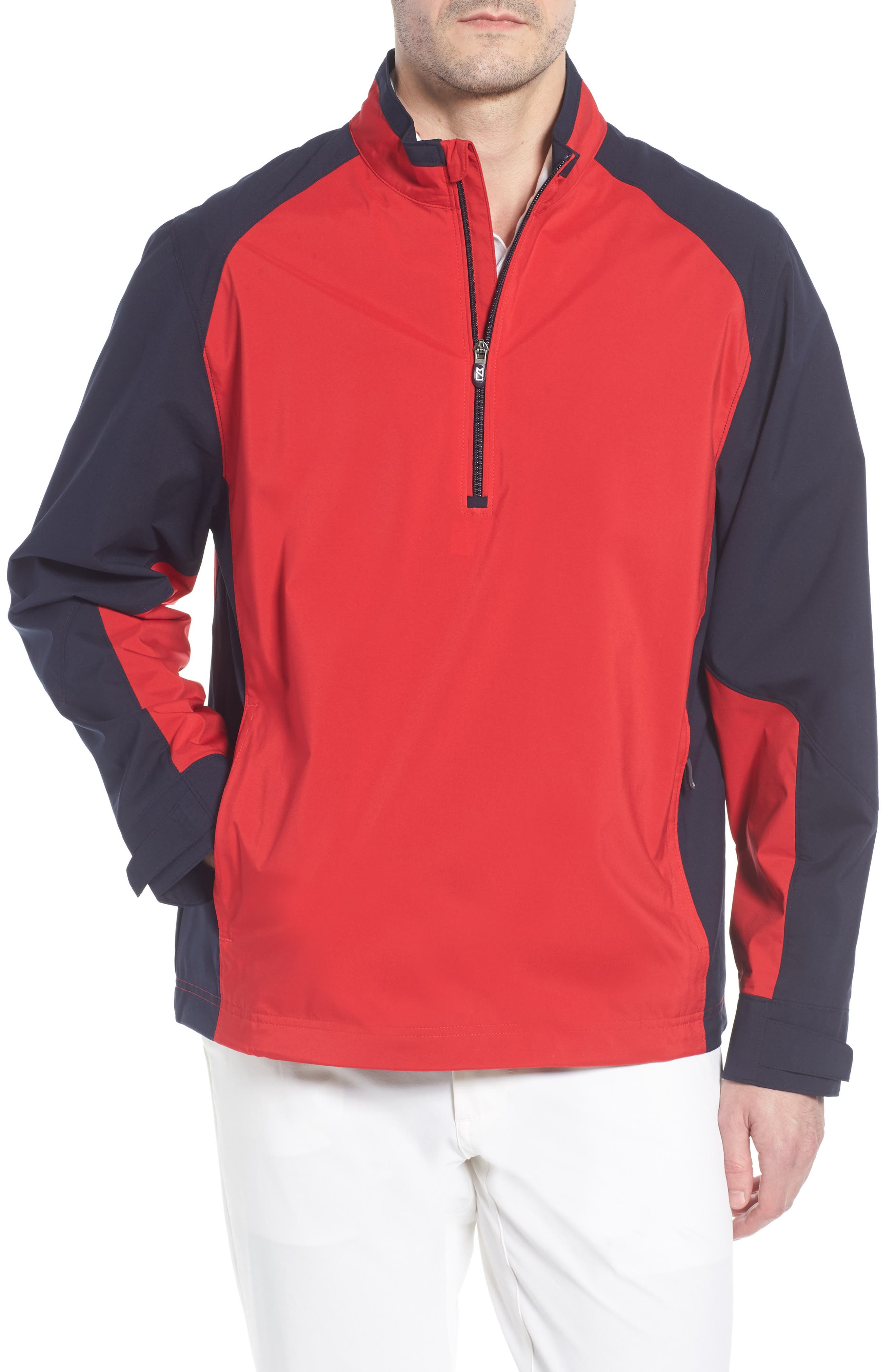 ,                             'Summit' WeatherTec Wind & Water Resistant Half Zip Jacket,                             Main thumbnail 7, color,                             400