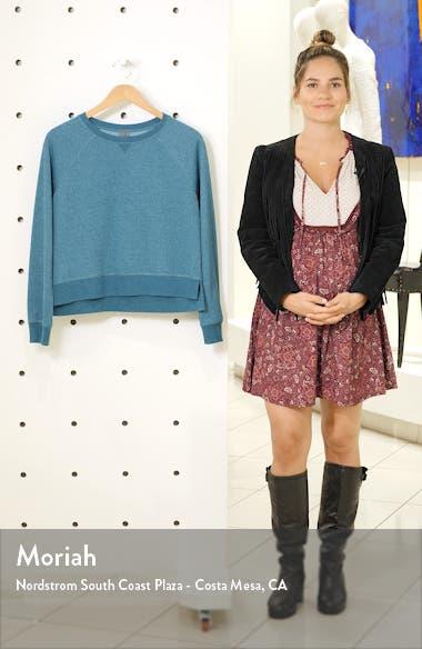 Chelsea Crop Sweatshirt, sales video thumbnail