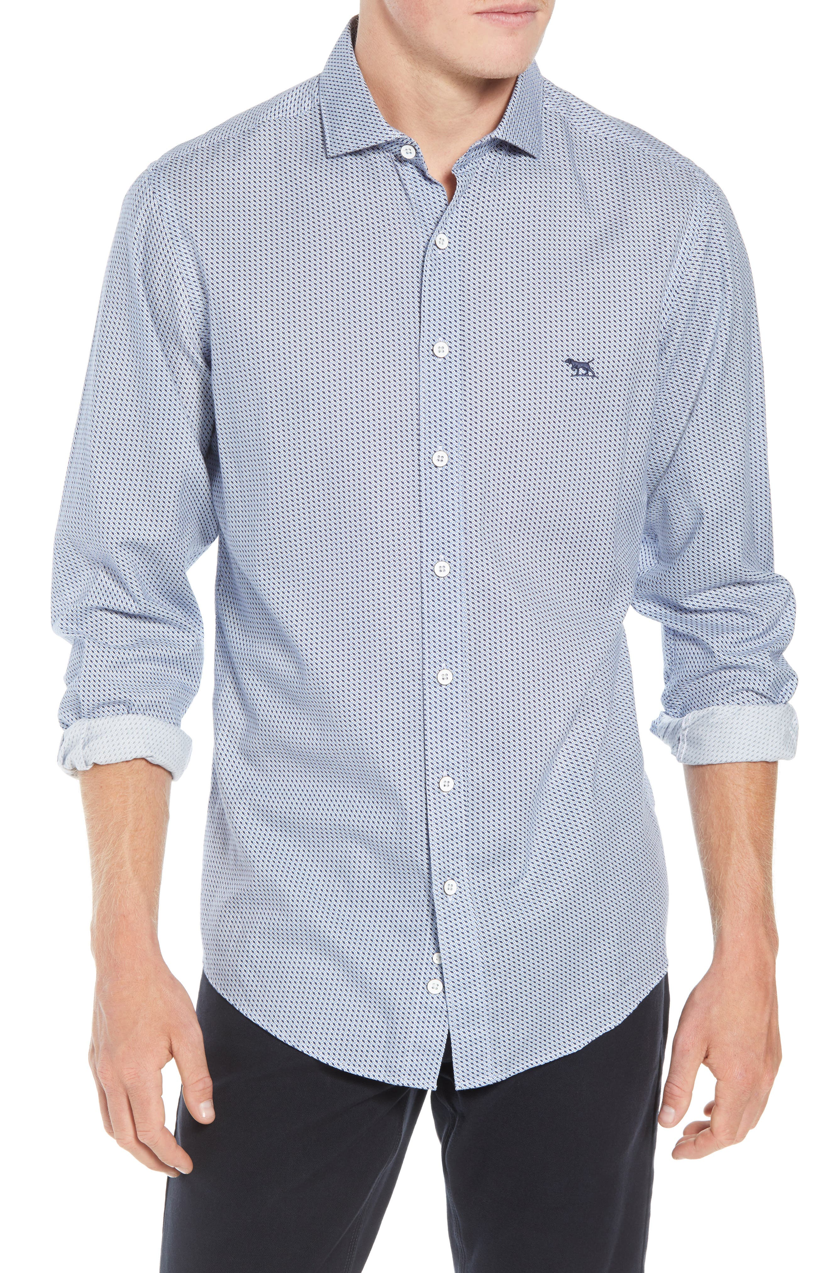 RODD AND GUNN Castor Bay Regular Fit Flannel Sport Shirt at Nordstrom Rack
