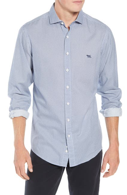 Image of RODD AND GUNN Castor Bay Regular Fit Flannel Sport Shirt