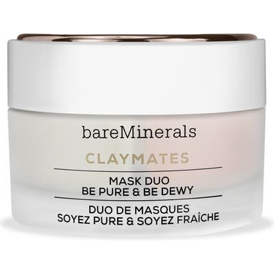 Bareminerals Be Pure & Be Dewy Claymates Mask Duo