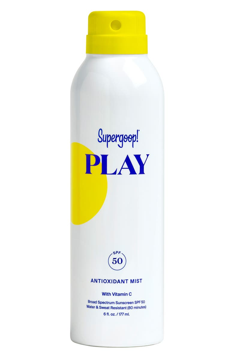 SUPERGOOP!<SUP>®</SUP> Supergoop! Play Antioxidant Body Mist SPF 50 Sunscreen, Main, color, NO COLOR