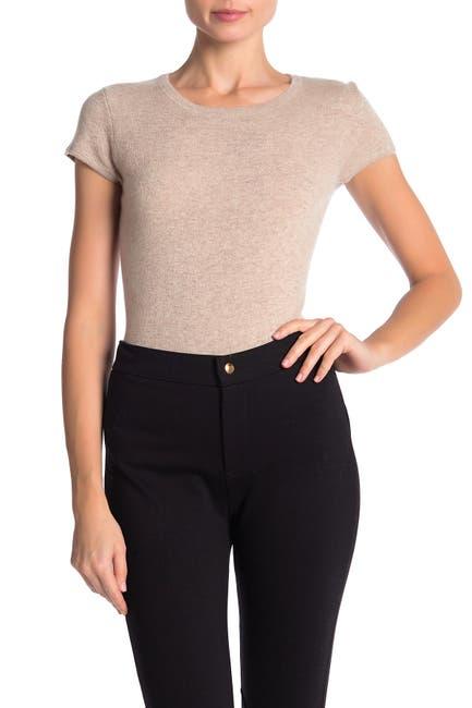 Image of Catherine Catherine Malandrino Cashmere Short Sleeve Sweater