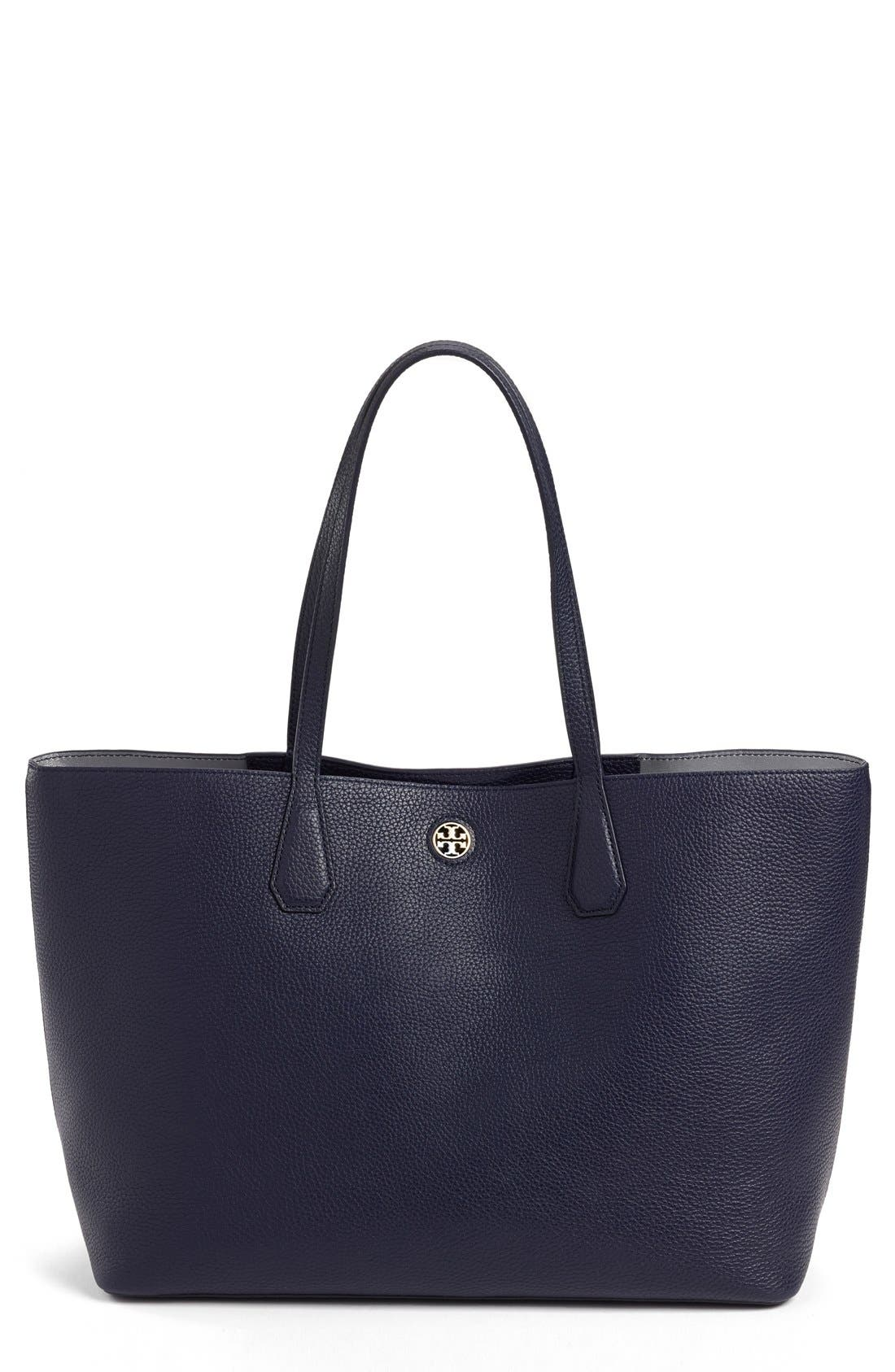 ,                             'Perry' Leather Tote,                             Main thumbnail 13, color,                             400