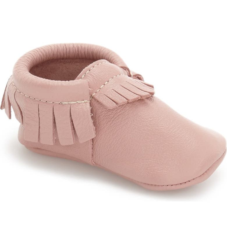 FRESHLY PICKED Classic Moccasin, Main, color, BLUSH LEATHER