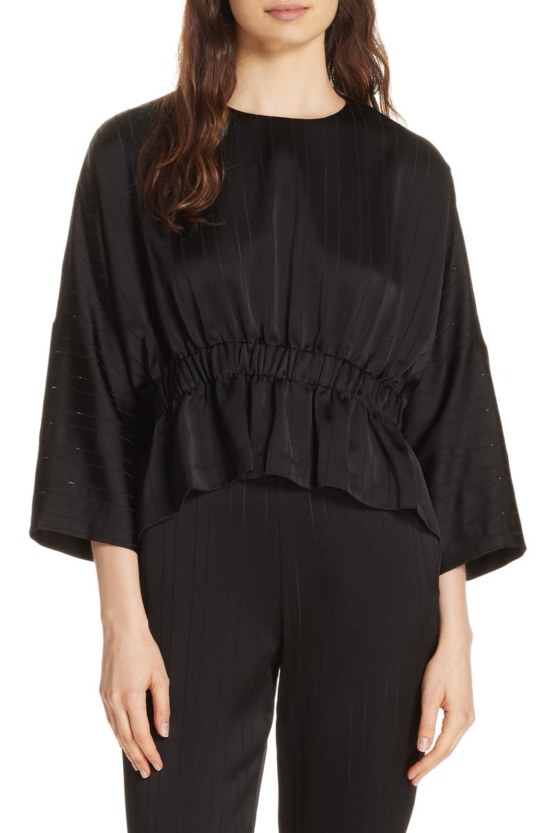 4979f4a4a7b97e Ted Baker London Kimilla Bell Sleeve Crop Top | Nordstrom
