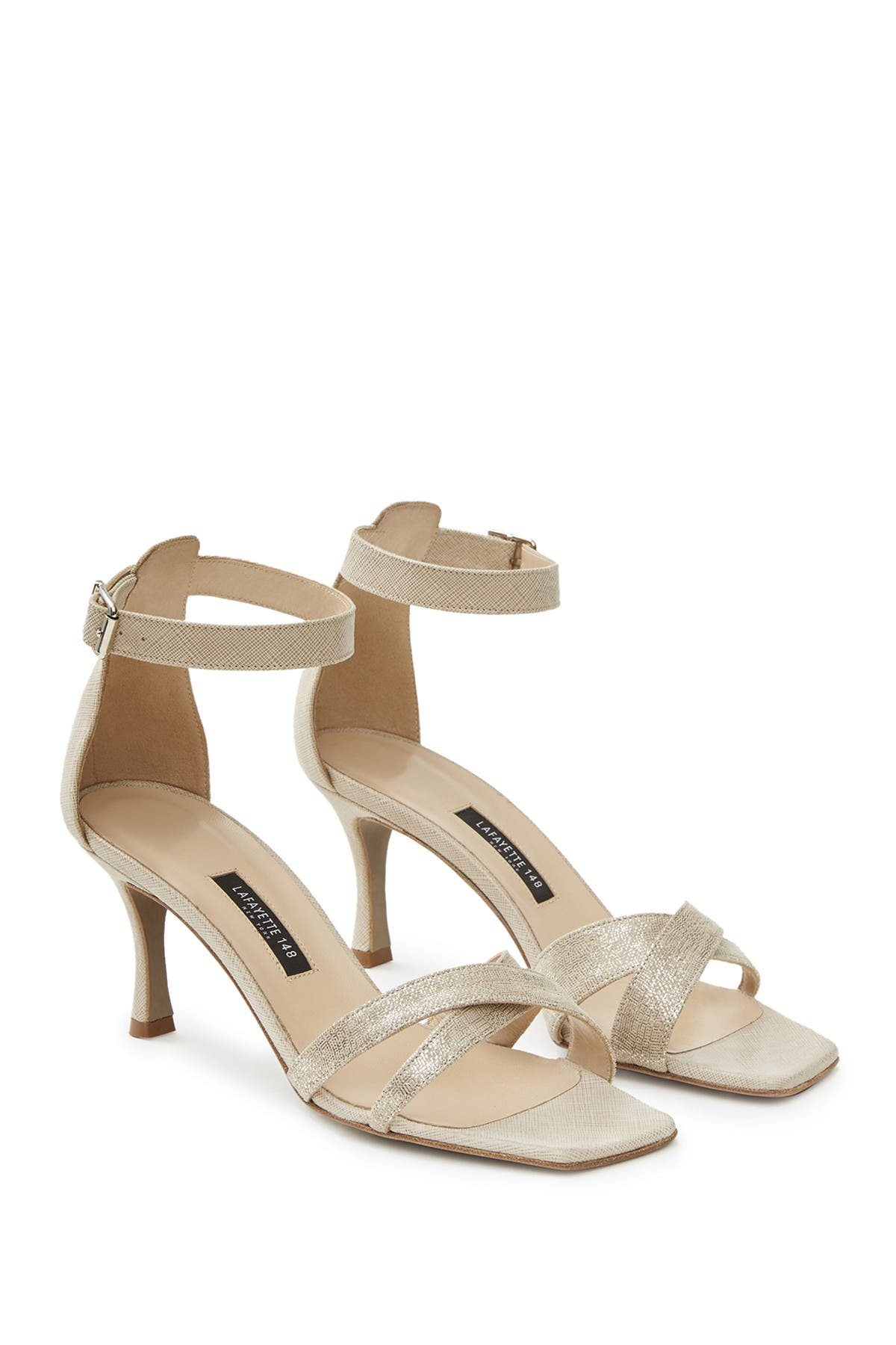 Image of Lafayette 148 New York Lula Ankle Strap Sandal