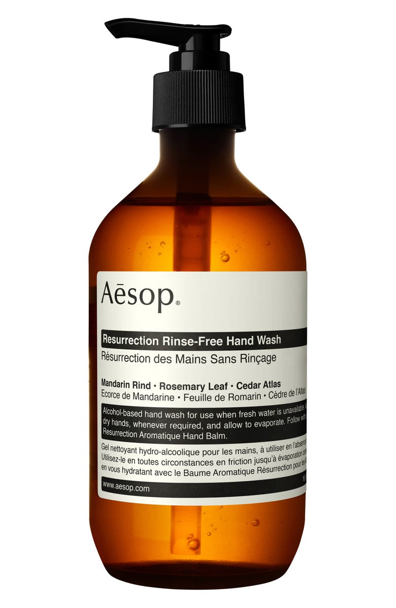 AESOP Resurrection Rinse-Free Hand Wash, Main, color, NO COLOR