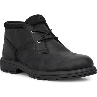 UGG Biltmore Waterproof Plain Toe Boot, Black