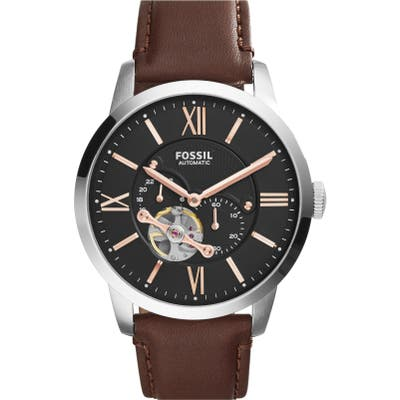 Fossil The Commuter Mesh Strap Watch,